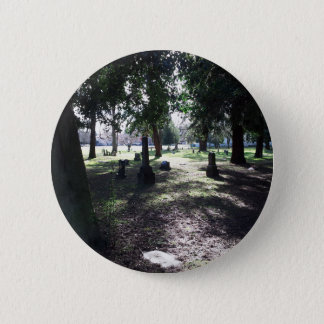 Shadowy Cemetery 2 Inch Round Button