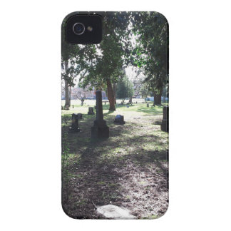 Shadowy Cemetery iPhone 4 Case-Mate Case