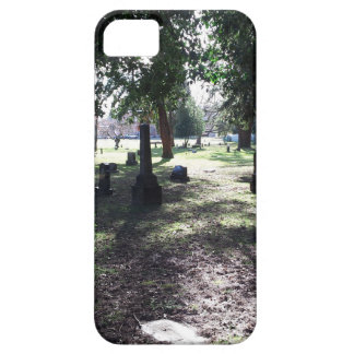 Shadowy Cemetery iPhone 5 Case