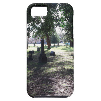 Shadowy Cemetery iPhone 5 Cases