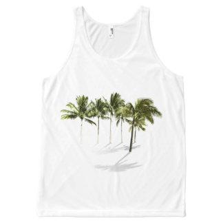 Shadowy palms