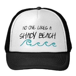 Shady Beach Trucker Hat