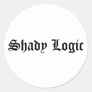 Shady Logic Sticker 2