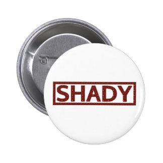 Shady Stamp 2 Inch Round Button
