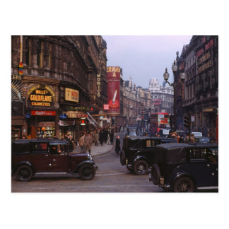 Shaftesbury Avenue 1949 Postcard