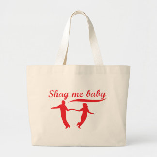 Shag Me Baby Large Tote Bag