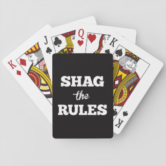 Shag the Rules Pitch Playing Cards