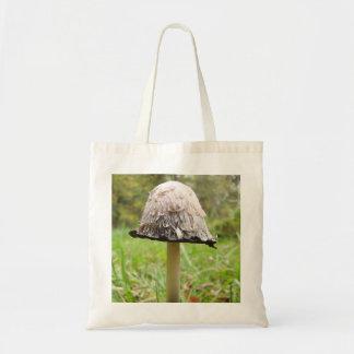 Shaggy Ink Cap Mushroom Tote Bag