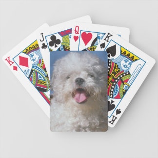Shaggy Poodle Dog Playing Cards