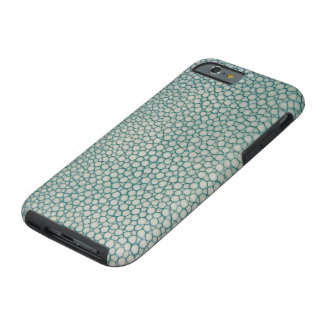Shagreen Aqua Seafoam Green Tough iPhone 6 Case