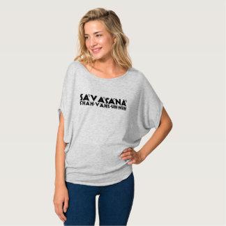 Shah-VAHS-uh-nuh   Savasana Comfy T T-Shirt