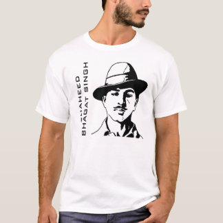 Shaheed Bhagat Singh Indian Freedom Fighter T-Shirt