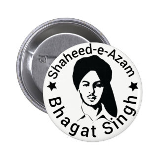 Shaheed-e-Azam Bhagat Singh 2 Inch Round Button