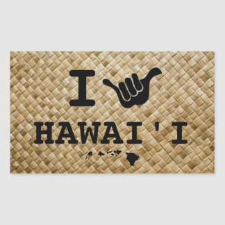 Shaka for Hawaii Sticker
