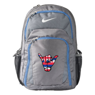 Shaka Hawaii Flag Backpack