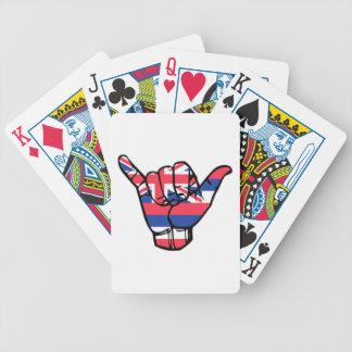 Shaka Hawaii Flag Bicycle Playing Cards