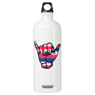 Shaka Hawaii Flag Water Bottle