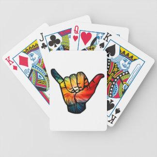 Shaka Rainbow Bicycle Playing Cards