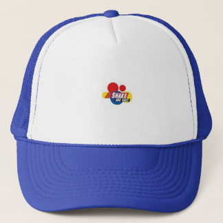 shake and bake trucker hat
