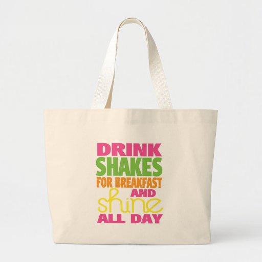 Shake and Shine Canvas Bags
