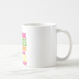 Shake and Shine Classic White Coffee Mug