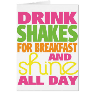 Shake and Shine Greeting Card