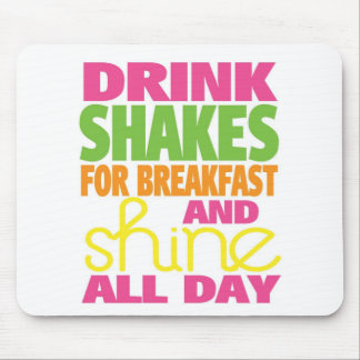 Shake and Shine Mouse Pad