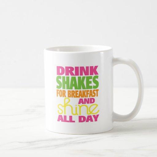 Shake and Shine Coffee Mugs