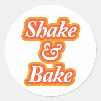 Shake & Bake Classic Round Sticker