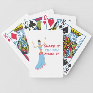Shake It Bicycle Playing Cards