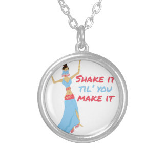 Shake It Silver Plated Necklace
