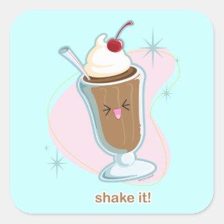 Shake It! Square Sticker
