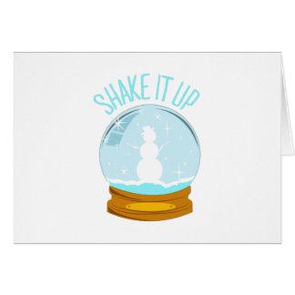Shake It Up Card