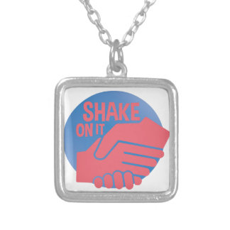 Shake On It Silver Plated Necklace