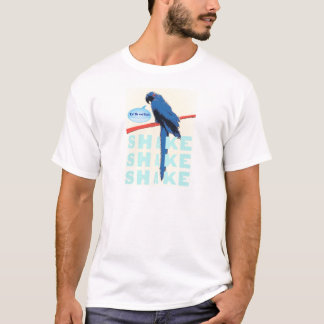 Shake Rattle and Roll Macaw T-Shirt