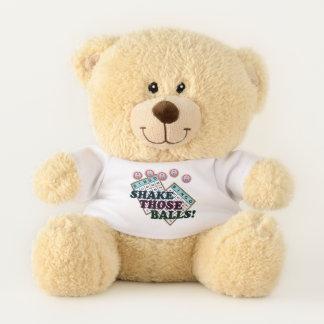 Shake Those Balls Bingo Player Teddy Bear