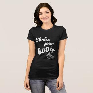 Shake your BOOty Halloween black t-shirt