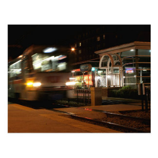 Shaker Square at Night - 3 Postcard