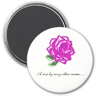 Shakespeare,  A rose by any other name Magnet