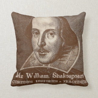 Shakespeare and Stratford-upon-Avon pillow