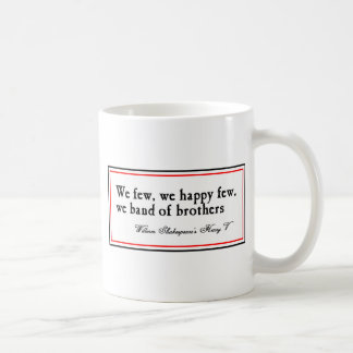 Shakespeare: Band of Brothers Coffee Mug