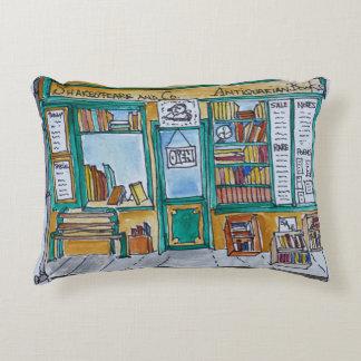 Shakespeare & Co. Bookstore | Seine, Paris Accent Pillow