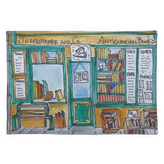 Shakespeare & Co. Bookstore   Seine, Paris Placemat