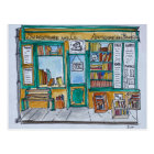 Shakespeare & Co. Bookstore | Seine, Paris Postcard