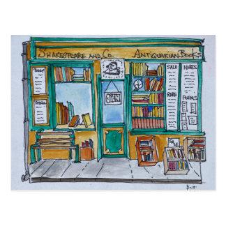 Shakespeare & Co. Bookstore | Seine, Paris Postcard