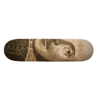 Shakespeare Droeshout Engravings Skate Board Deck