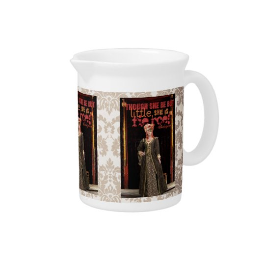 Shakespeare Fierce Quote Beverage Pitchers