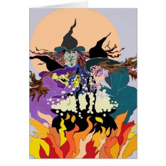 Shakespeare halloween greeting card