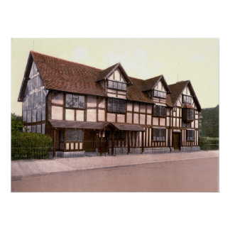 Shakespeare House Poster