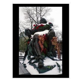 Shakespeare in Winter Postcard